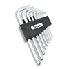 12735 Titan 9pc Detent Ball SAE Hex Key Set
