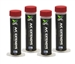 "399020AEU UView A/C Dye ""Multi-Shot"" Cartridges Winged 4 oz / 30 ml for Spotgun™ Jr. system (4 Pack with Service Stickers)"