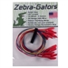 ZG002 Zebra Instruments Zebra-Gators 10 Piece Small Size Alligator Lead Set