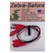ZG004 Zebra Instruments Zebra-Gators 4 Piece Large Size Alligator Lead Set
