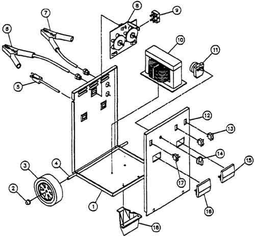 Printable Coloring Pages Trackid=sp 006 : Sears battery charger