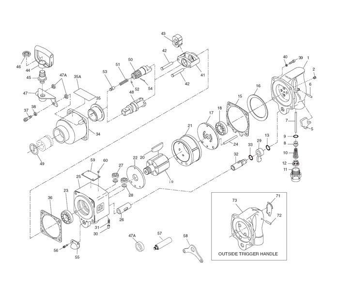 Ingersoll-Rand 280 Repair Parts