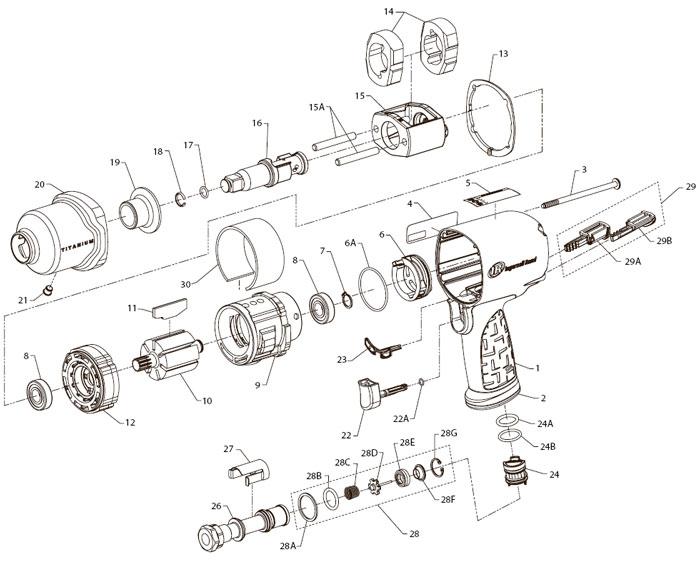 Ingersoll-Rand 2135TiMAX 1/2