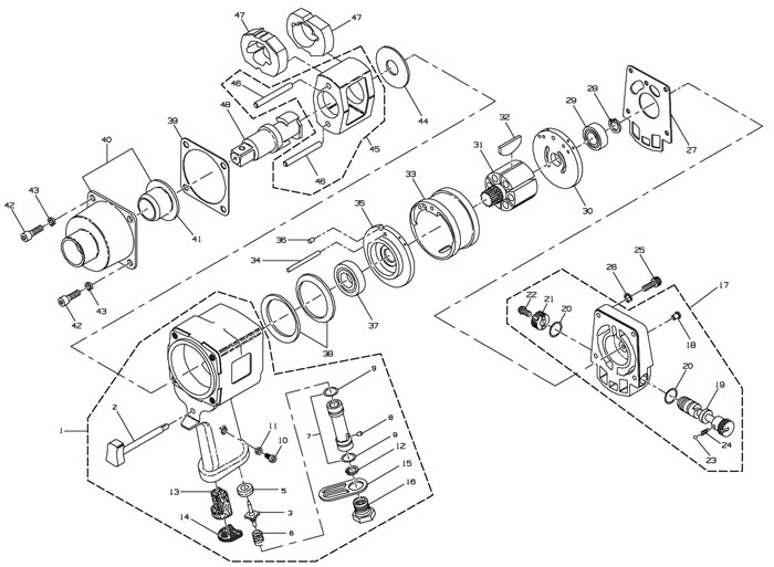 ingersoll rand 2131 parts