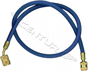 68260A Robinair 60in. Blue Enviro-Guard Hose 45 Degree Quick Seal Fitting