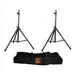 MR DJ SS-650PKG Speaker Pro Audio Stand Package Kit with Carrying Bag