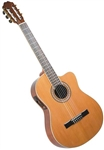 Antonio Hermosa AH-10CE Cutaway Acoustic Electric Classical Guitar