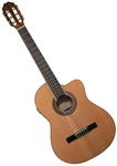Antonio Hermosa AHT-10CE Thinbody Cutaway Classical Acoustic Electric Guitar
