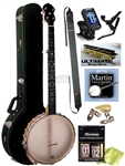 Gold Tone BC-350 Bob Carlin Signature Open Back Banjo Package