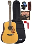 Blueridge BR-140 Dreadnought Acoustic Guitar Starter Package Bundle Combo
