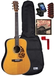Blueridge BR-160 Dreadnought Acoustic Guitar Starter Package Combo Bundle