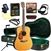 Blueridge BR-160LH Left Handed Dreadnought Acoustic Guitar Deluxe Package Bundle Combo