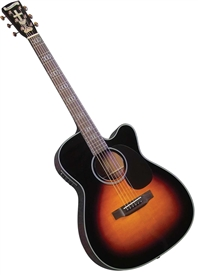 "Blueridge BR-343CE ""000"" Gospel Model Acoustic/Electric Guitar"