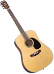 Blueridge BR-60 Dreadnought Acoustic Guitar Contemporary Series w/ Case