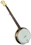 Gold Tone Cripple Creek CC-100R or CC-100RP Maple Resonator Banjo - Left/Right Handed Available w/ Free bag, setup, shipping.