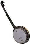"Deering ""Deluxe"" 5 String Professional Resonator Banjo. Free Case, Setup and Shipping!"