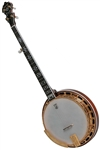Deering Golden Classic Banjo 5 String Professional Resonator Banjo. Free Case, Setup and Shipping!