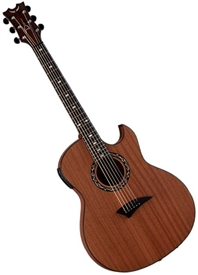 Dean Exhibition Thinbody Cutaway Acoustic/Electric Guitar EX SN
