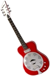 Eastwood Airline Folkstar Electric Dobro Resonator Guitar Red, Blue or Black