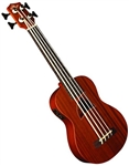 Eddy Finn EF-EBASS Acoustic/Electric Ukulele Bass Uke w/ Aquila Strings and Gig Bag