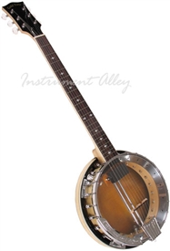 Gold Tone GT-500 Deluxe Banjitar Six String Electric Banjo w/ Case - LEFT HANDED