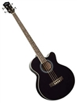 Johnson JB-24-BK Deep Body Acoustic Jumbo Bass Guitar