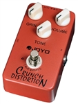 JOYO JF-03 Crunch Distortion British Rock Style Guitar Effects Pedal FX Stompbox