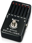 JOYO JF-11 6-Band EQ Guitar Equalizer Effects Pedal FX Stompbox True Bypass