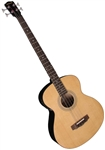 Johnson JG-622-E Deep Body Acoustic Electric Jumbo Bass Guitar
