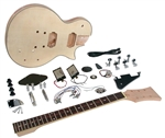 Saga LC-10  Do It Yourself LP-Style Build Your Own Guitar Kit - Builders Package