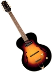 The Loar LH-301T Thinbody Archtop Acoustic/Electric Guitar with Hard Case
