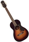 The Loar LO-215-SN Small Body 0-Style Solid Top Acoustic Guitar - Sunburst