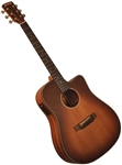 Morgan Monroe Creekside MDC-1CEB Cutaway Acoustic/Electric Guitar w/ Bag