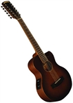 Morgan Monroe Creekside MMV-12CEB 12 String Solid Top Acoustic Guitar