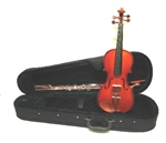 Merano MV350 Hard Carved Student Beginner Violin with Case - Boxwood Fittings Full and Fractional Sizes 4/4-1/10