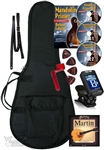 Mandolin Accessory Package - Bag, Stand, Tuner, Strings, Picks, DVD, Strap