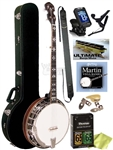 Gold Tone OB-250 Orange Blossom Pro Bluegrass 5-String Resonator Banjo - Complete Package. Free Shipping!