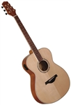 Wood Song OME-NA Orchestra Model Solid Sitka Top Acoustic/Electric Guitar w/ Bag - Natural