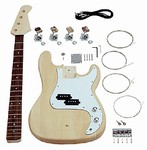 Saga Do It Yourself PB-10 Build Your Own P Style Bass Guitar Kit - Builders Package