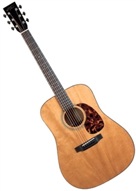 Recording King RD-T16 Dreadnought Torrefied Solid Adirondack Top Acoustic Guitar