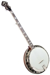 "Recording King RK-ELITE-75 ""The Elite"" 5-String Professional Bluegrass Banjo"