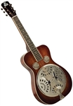 Recording King RR-60-VS Professional Squareneck Resonator Guitar - Mahogany w/ Case