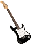 Washburn S1B Sonamaster Series Solid Body Electric Guitar - Black