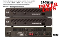 SHS Audio SA Series SA1500 Powered Amplifier