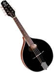Trinity College TM-250B Black Celtic Mandolin w/ Hard Case
