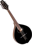 Trinity College TM-275B All-Solid Celtic Mandola - Black w/ Hard Case