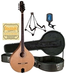 Trinity College TM-375 All-Solid Irish Bouzouki Starter Package