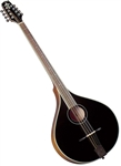 Trinity College TM-375B All-Solid Irish Bouzouki - Black w/ Hard Case