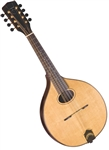 Trinity College TM-450 All-Solid Celtic Mandolin w/ Hard Case