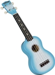 Hamano U-35LB Soprano Sparkle Ukulele Uke w/ Bag Light Blue